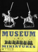 Museum Miniatures 15mm Medieval MD28 Shire Levy Hobilar (x 4 mtd figs)